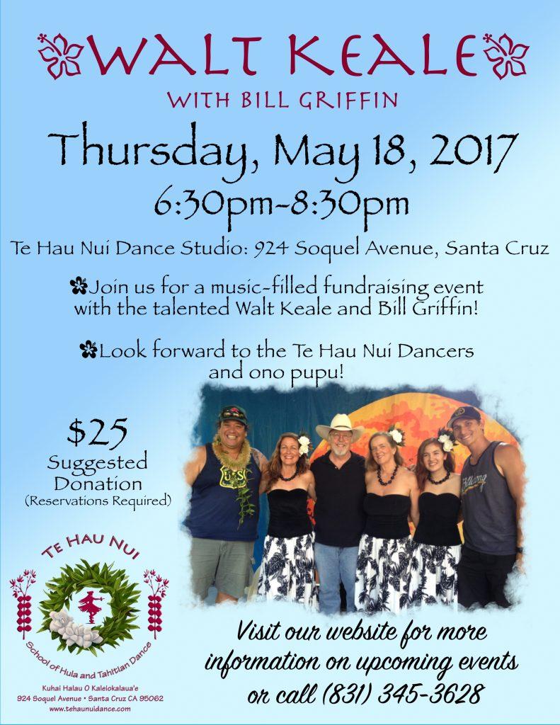 Walt Keale @ Te Hau Nui Dance Studio | Santa Cruz | California | United States